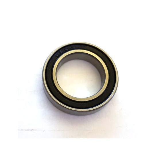 Closed ball bearing for cutting skins machines