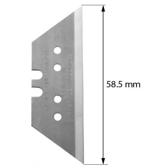 Blade Z73 on hard metal widia - Max Cutting depth 16/18.2 mm