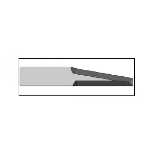 Blade 01040075 - Thickness 1.5 mm - Max. cutting depth 30 mm - Blade thickness 1 mm