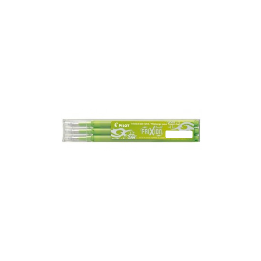 Frixion refillable pen with heat: light green color - 3 pieces