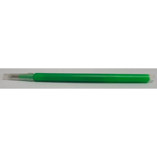 Refillable pen with heat: light green color