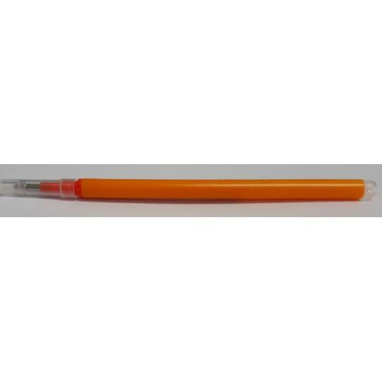 Refillable pen with heat: Orange color