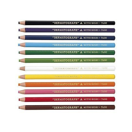 Blue Mitsubishi pencil