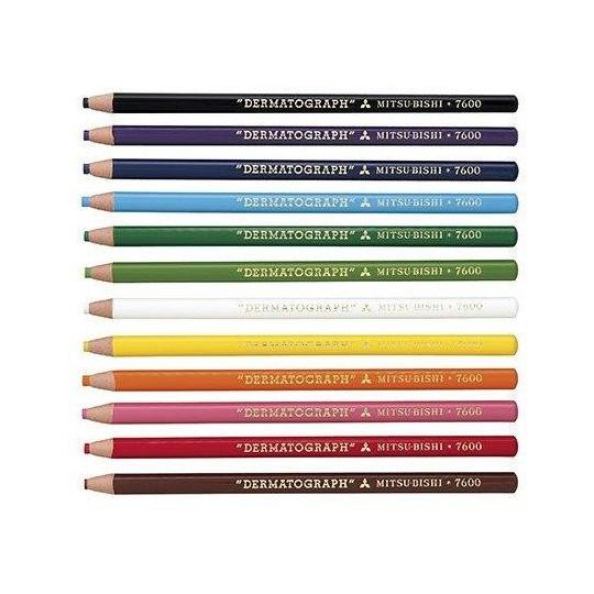 Red Mitsubishi pencil