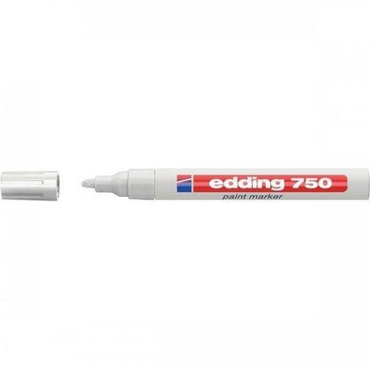 Edding 750 White indelible marker