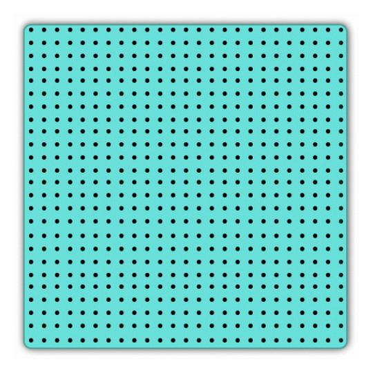 Milling carpet - Dim 310 x 320