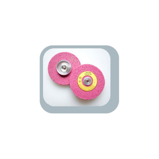 Cylindrin grinding stone with compass 70x7xm6 pink super porous