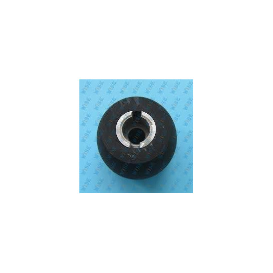 Feed roller 50mm black rubber