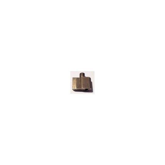 Blade holder brassed - Thickness 1.0 mm