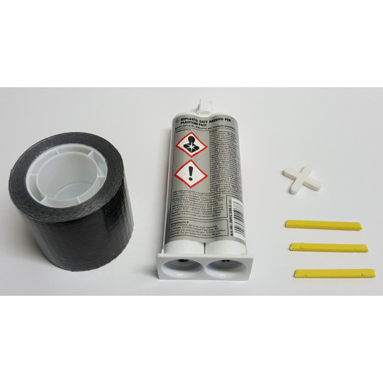 Junction kit for carpet at head to head