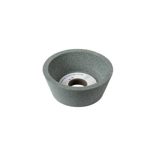 Twin grinding stone for shaped-bowl blade