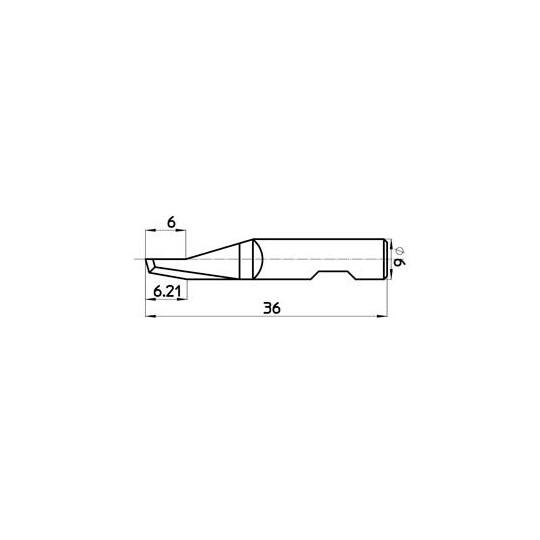 Blade 43610 - Max cutting depth 7 mm
