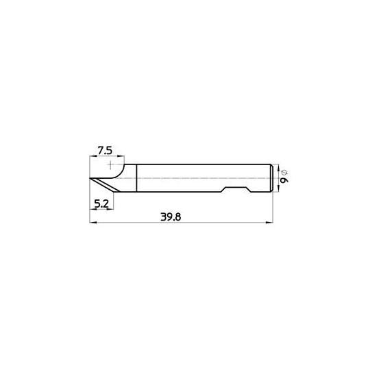 Blade 45877 - Max. cutting depth 6 mm