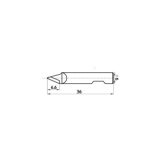 Blade 47091 - Max. cutting depth 7 mm