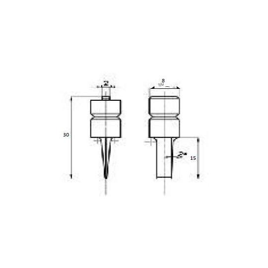 Blade 46899 - Max cutting depth 15 mm