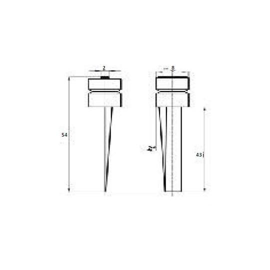 Blade 46909 - Max cutting depth 43 mm