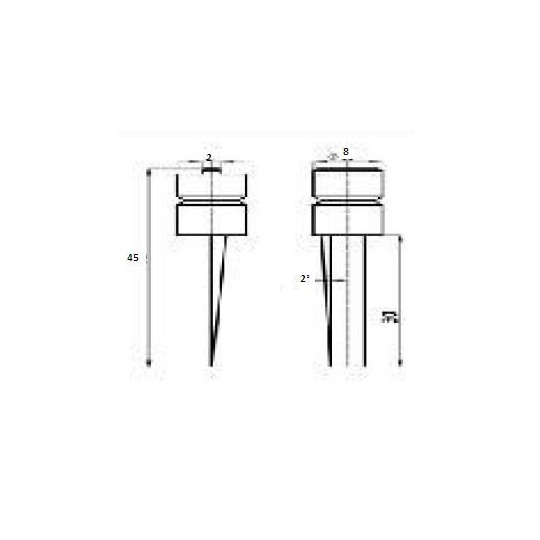 Blade 47017 - Max cutting depth 30 mm