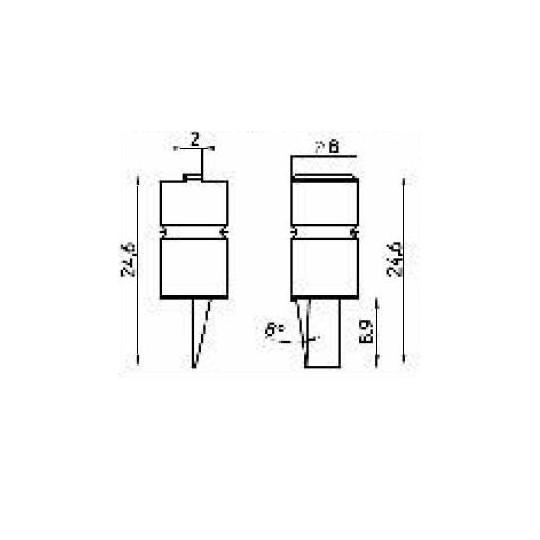Blade 42586 - Max cutting depth 9 mm