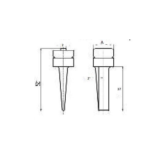 Blade 46523 - Max cutting depth 37 mm