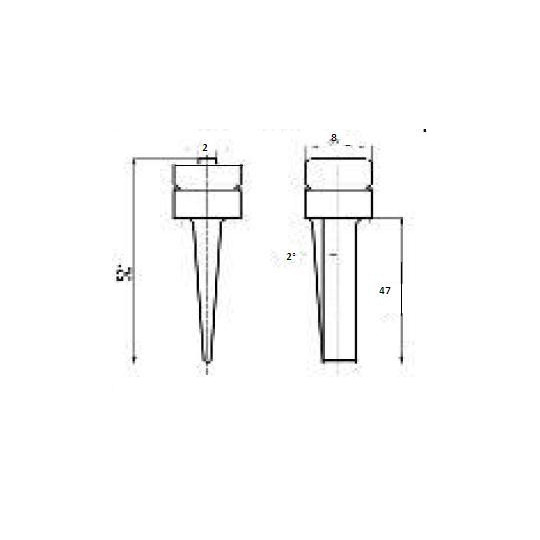 Blade 46660 - Max cutting depth 47 mm