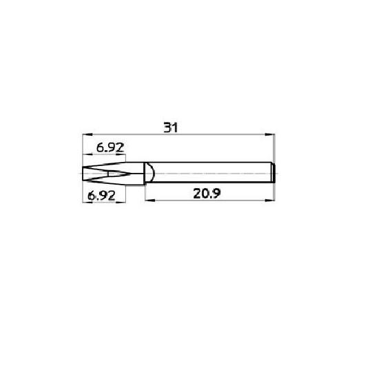 Blade 44912 - Talamonti compatible (524) - Machine Saturno 2.2