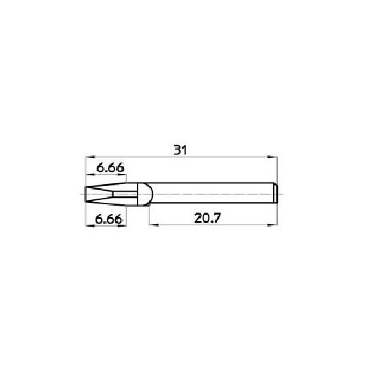 Blade 44913 - Talamonti compatible (525) - Machine Saturno 2.2