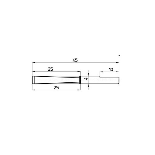 Blade 46636 - Talamonti compatible - Micro-porous blade