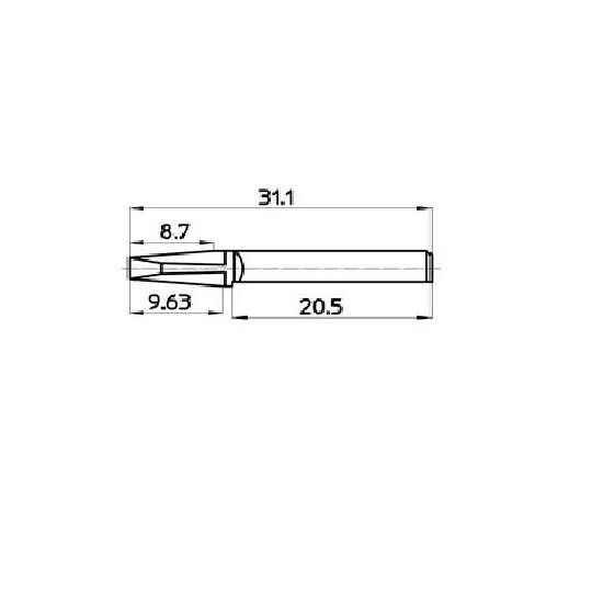 Blade 46742 - Talamonti blade (606)