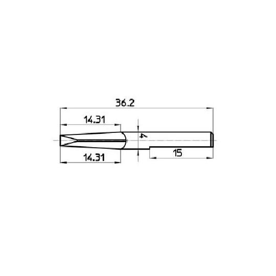 Blade 46846 - Talamonti compatible (S13 - S10)