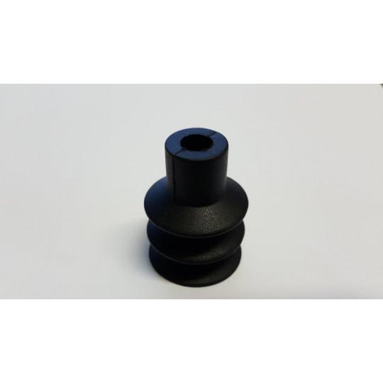 Black sucker - h 40 mm - Ø 30 mm