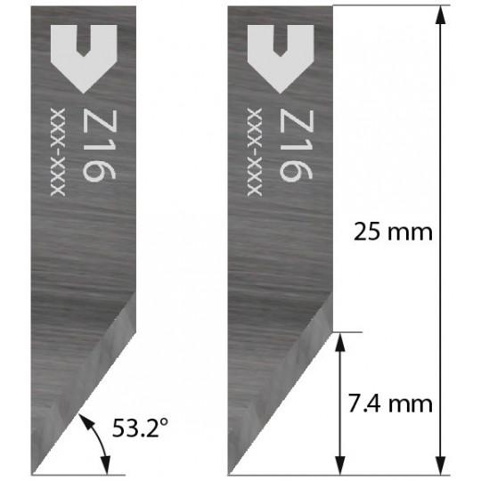 Blade 3910306 - Z 16 - Max. cutting depth 7.4 mm