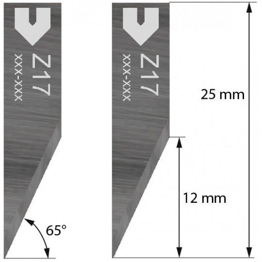 Blade 3910307 - Z 17 - Max. cutting depth 12 mm