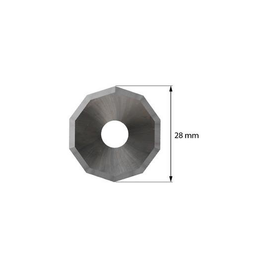 Blade 3910336 - Z 51 - Max cutting depth 5 mm - Ø 28 mm - ø inside hole 8 mm