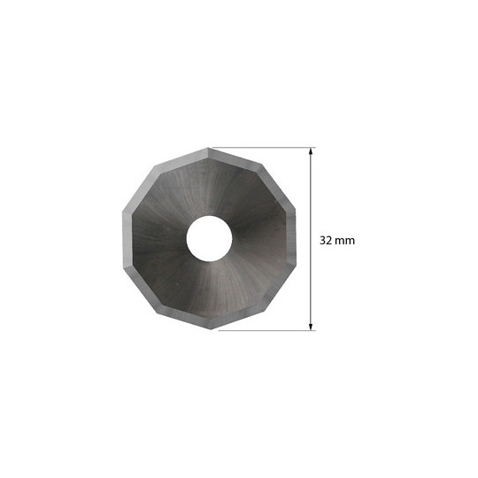 Blade 39110337 - Z 52 - Max cutting depth 7 mm - Ø 32 mm - ø inside hole 8 mm