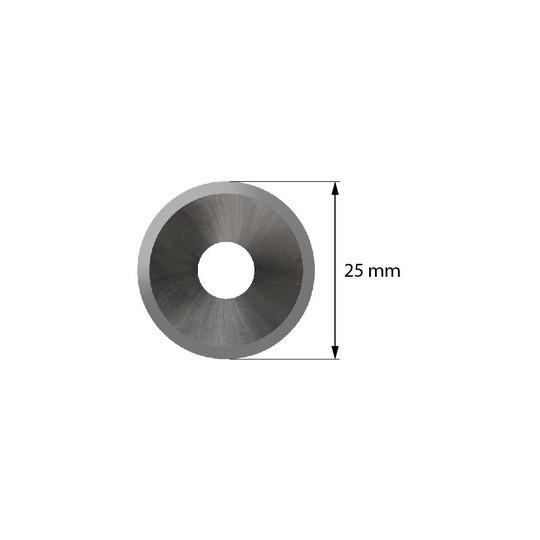 Blade 4800059 - Z 53 - Max cutting depth 2 mm - Ø 25 mm - ø inside hole 8 mm