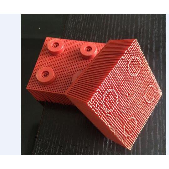 Blister - Brush on drill nylon - 9x9.5 cm - 200 g - Lecta VT 5000
