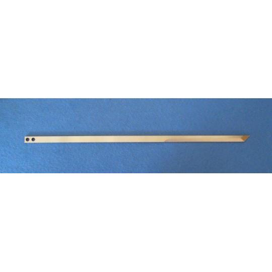 Flat blade 801214 - Thickness 2 mm - Dim 296 x 7 mm