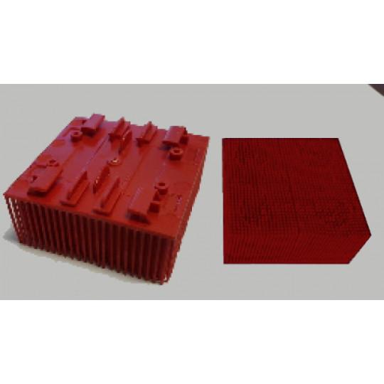 Blister - Brush on nylon 5x5 cm - 200 g - Lecta VT 2500