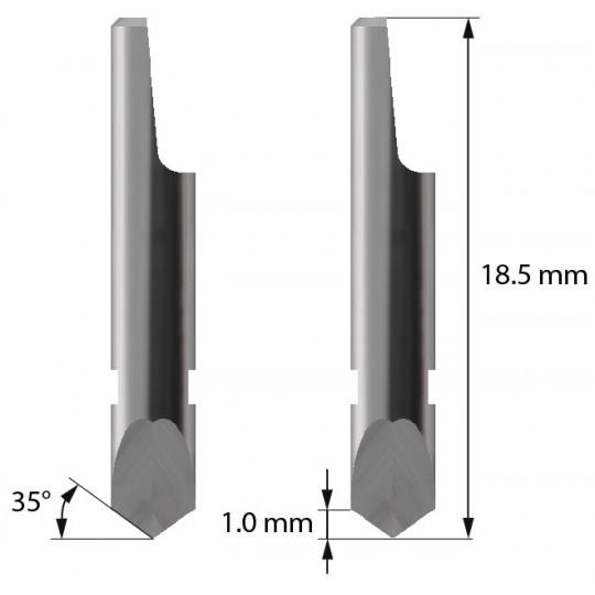 Blade 3910115 - Z3 - Max cutting depth 1 mm