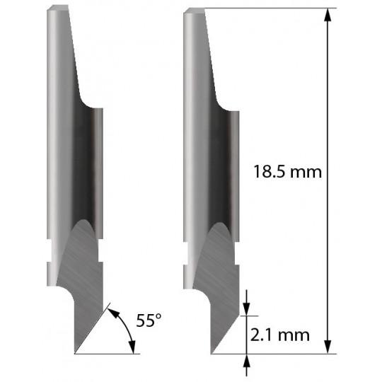 Blade 3910116 - Z4 - Maxim. cutting depth 2.1 mm