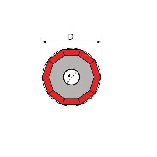 Blade Protek compatible  Ref. KW0430 - Ø 26 ø inside hole 10 mm
