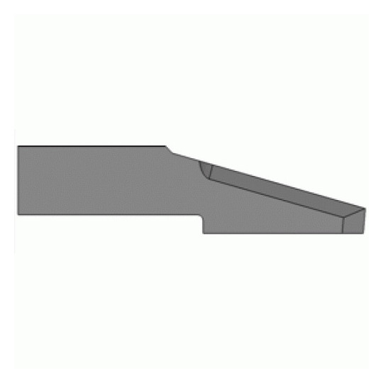 Blade Biesse compatible - 01R40073 - Long duration - Max cutting depth 5 mm