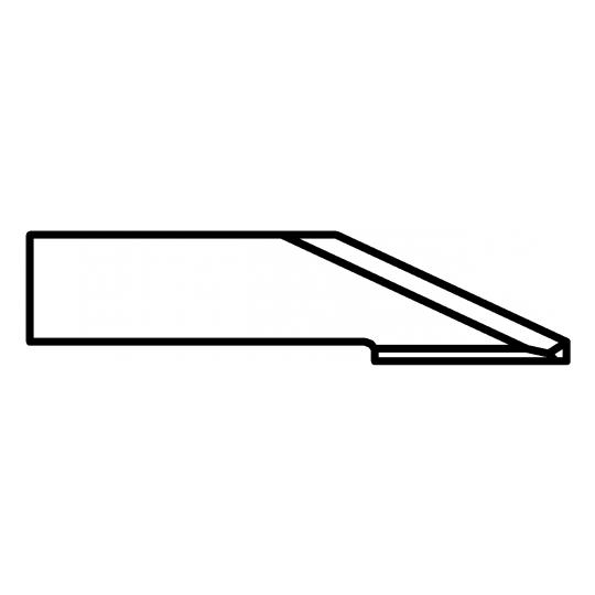 Blade Biesse compatible - 01033858 - Max cutting depth 5 mm