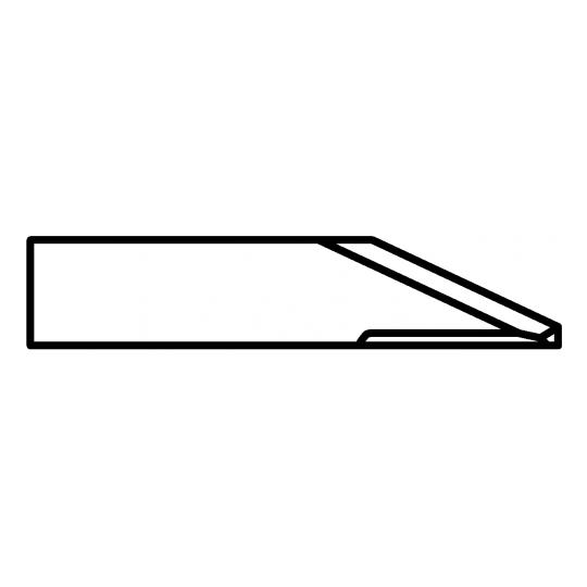 Blade Biesse compatible - 01033857 - Max cutting depth 5 mm