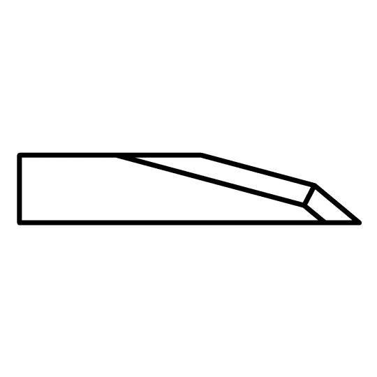 Blade Biesse compatible - 01039903 - Max cutting depth 12 mm