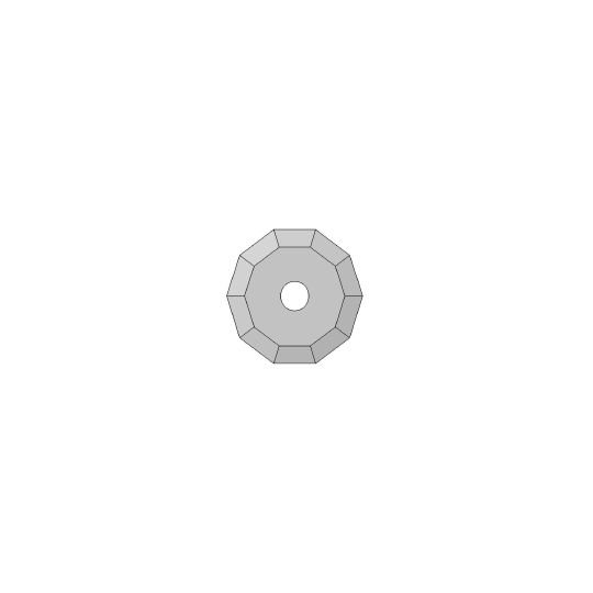 Blade - 01060676 - ø 36 mm - ø inside hole 5 mm