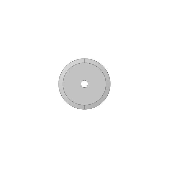Blade - 01060214 - ø 36 mm - ø inside hole 5 mm