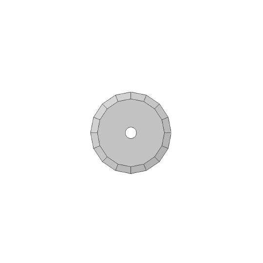 Blade - 01060220 - ø 36 mm - ø inside hole 5 mm