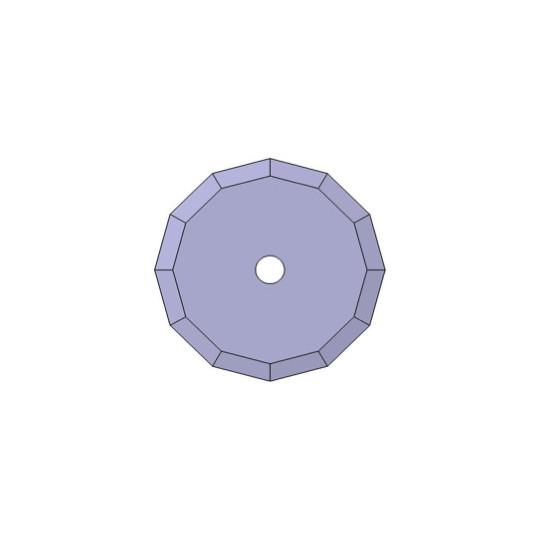 Blade Biesse compatible - 01045231 - ø 39.5 mm - ø inside hole 5 mm