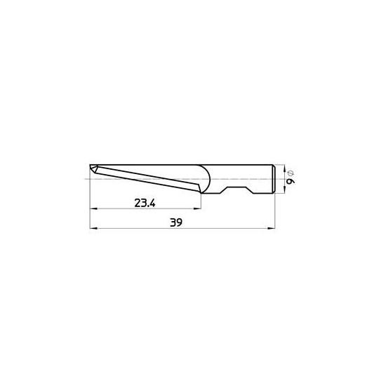 Blade 45315 - MAx. cutting depth 24 mm